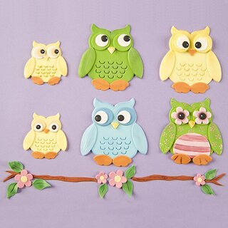 Patchwork Cutters Owl