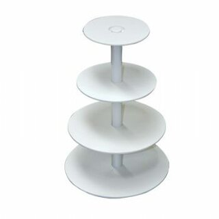 Tiered Cake Stand Plastic, 4 tiers