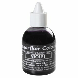 Sugarflair Airbrush Colouring -Violet- 60ml