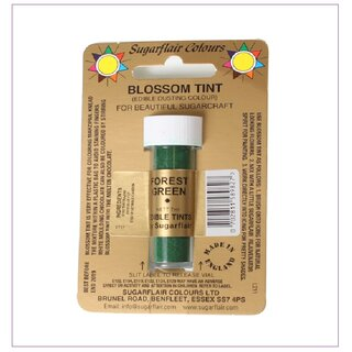 Sugarflair Dusting Colour FOREST GREEN, 7ml