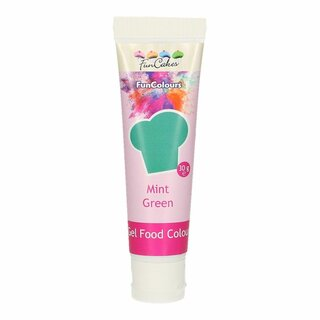 FunCakes Edible FunColours Gel - Mint Green 30g