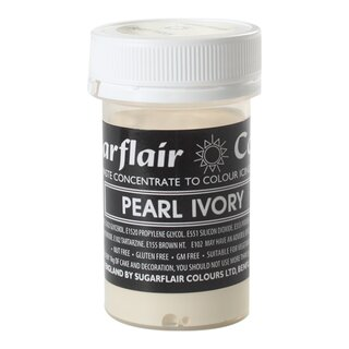 Sugarflair Paste Colour Pastel PEARL IVORY 25g