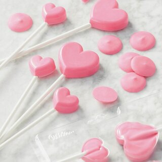 Wilton Lollipop Mold Mini Hearts