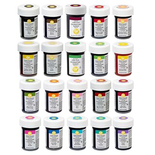 Wilton Gelfarben FULL SET Icing Colour - 20x28g