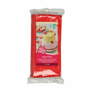FunCakes Fondant -Fire Red- -1kg-