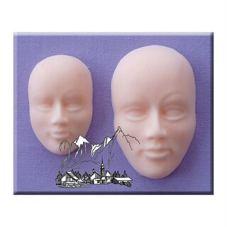 Alphabet Moulds - Gesichter / Faces