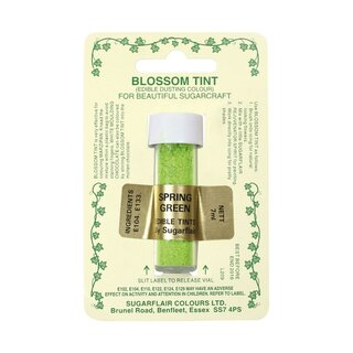Sugarflair Blossom Tint Dusting Colours - Spring Green