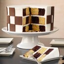 Wilton Checkerboard Round Cake Set/4